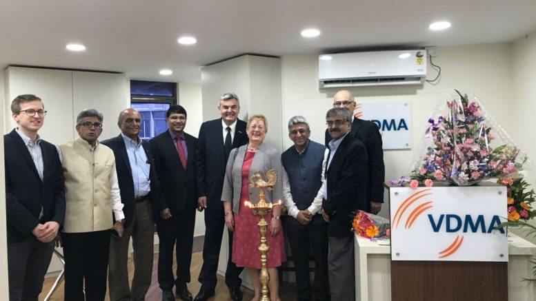 Opening of the Bangalore office of VDMA-the largest